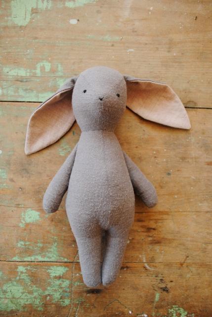 Stuffed Animal Sewing Pattern Fox Or Wolf Soft Toy Doll
