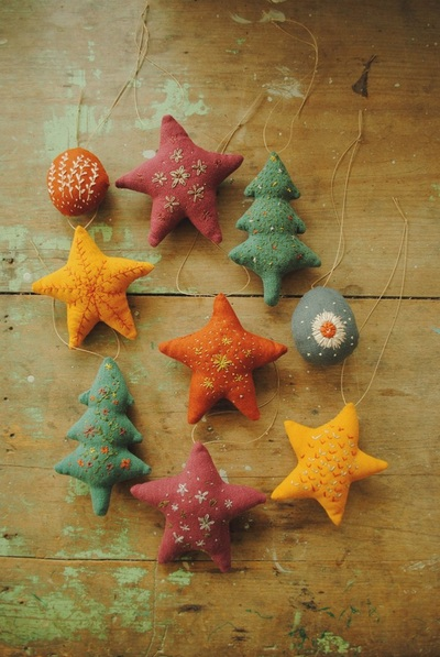 Christmas ornaments sewing pattern by Willowynn