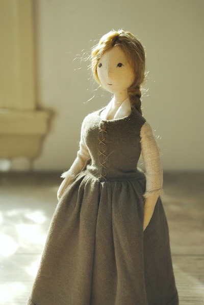 Cloth art doll by Willowynn