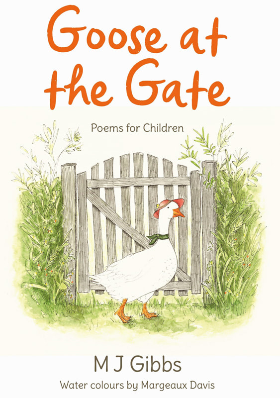 Goose at the Gate front cover illustration. Margeaux Davis, 2020