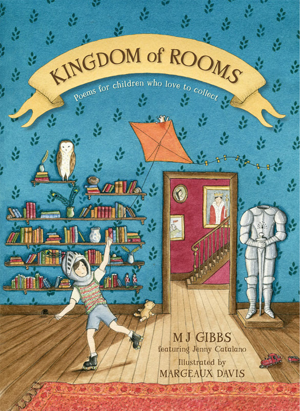 Kingdom of Rooms front cover illustration. Margeaux Davis 2021