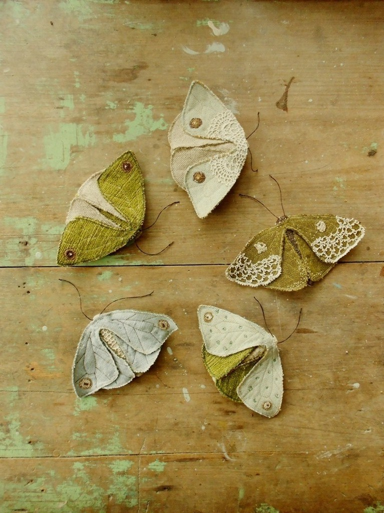 Fabric Moth And Butterfly Pdf Sewing Pattern By Willowynn