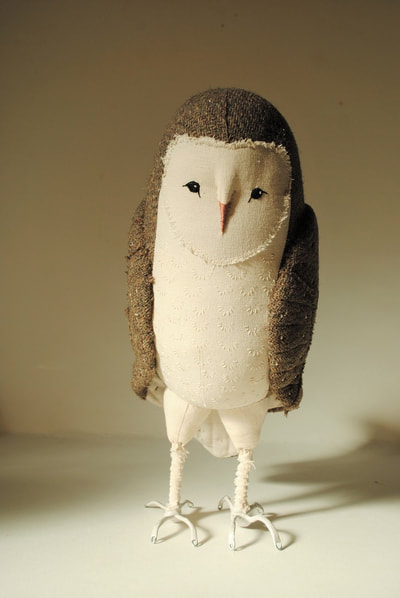 Soft sculpture owl by willowynn