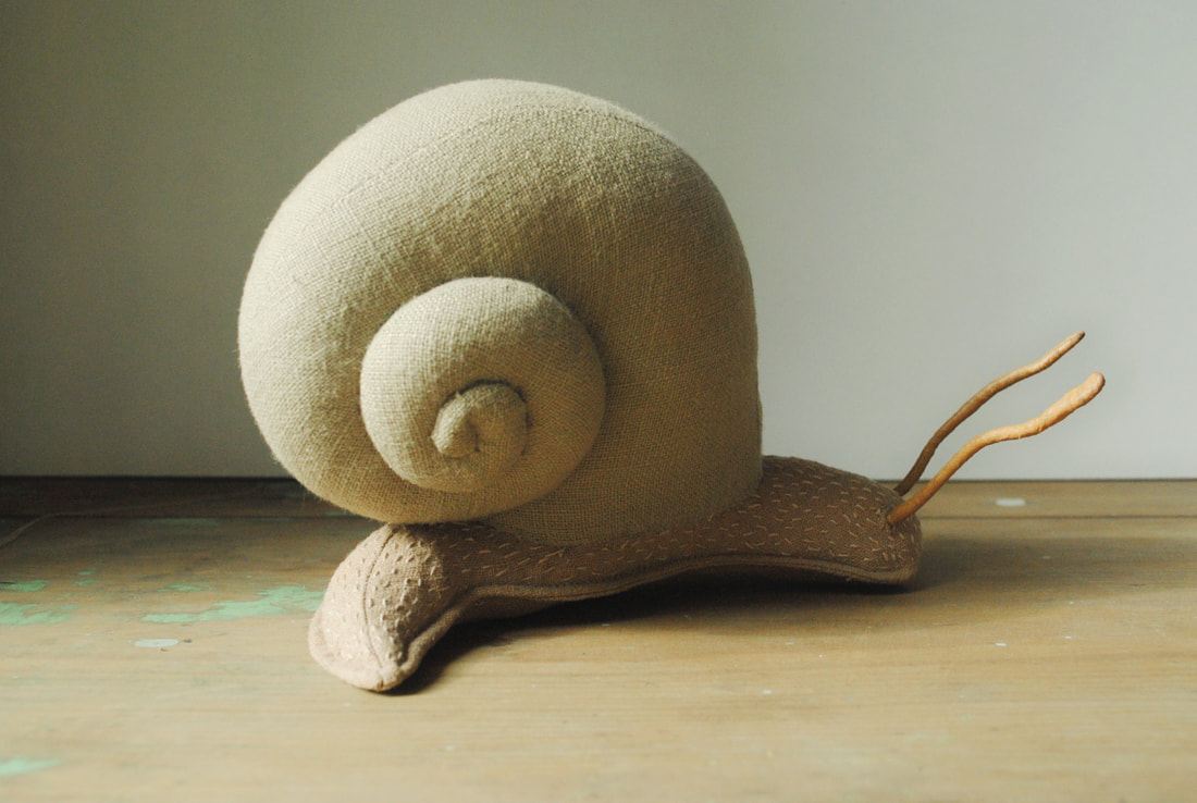 Willowynn snail soft sculpture