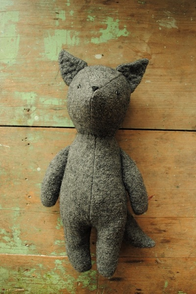 Wolf doll sewing pattern by Willowynn