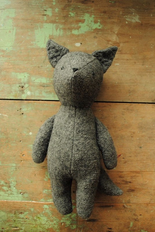 little wolf sewing pattern by Willowynn